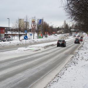 Tasavallankatu Kuopion Haapaniemellä.