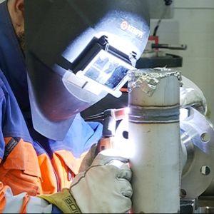 metallityöt, kasvosuoja työpaikalla, lvi-ala, Lämpösulku Oy