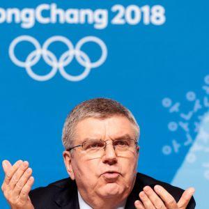 Thomas Bach Pyeongchang