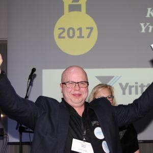 Kemin Yrittäjien puheenjohtaja Tuomo Jäärni.