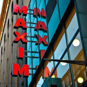 Elokuvateatteri Maxim ulkoa.