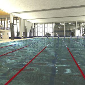 Rovaniemi uusi uimahalli havainnekuva