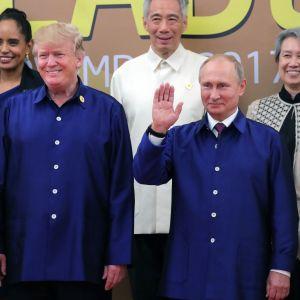 Putin ja Trump tapaavat.