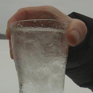 Lehijärven vettä lasissa