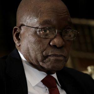 Etelä-Afrikan presidentti Jacob Zuma.