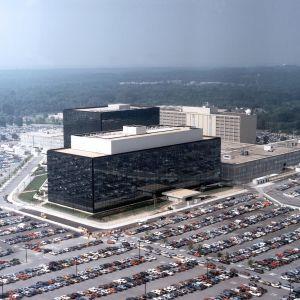 Kansallisen turvallisuuden virasto NSA:n päämaja Marylandissa Fort Meadessa.