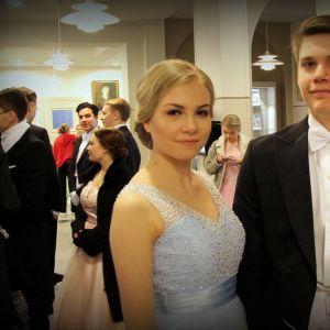 Olivia Laitinen ja Markus Keränen