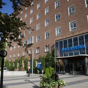 Karoliininen yliopistosairaala Tukholmassa.
