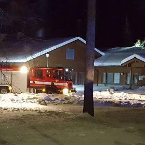 Puolangan kirkolla syttyi tulipalo 16. helmikuuta.