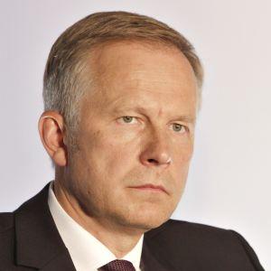 Latvian keskuspankin pääjohtaja Ilmārs Rimševičs.
