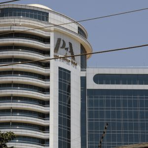 Pearl of Africa -hotelli Kampalassa Ugandassa.