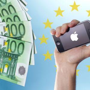 Kuvituskuva Apple irlanti raha verot