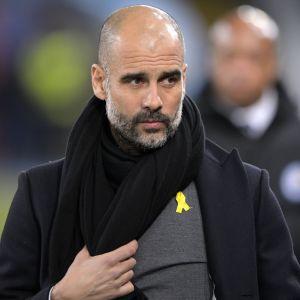Jalkapallovalmentaja Pep Guardiola