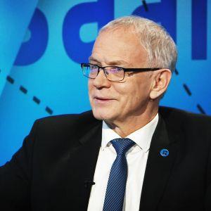 Viron parlamentin puhemies Eiki Nestor.