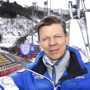 Mikko Salonen Pyeongchangin olympialaisissa