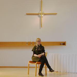Keminmaan kirkkoherra Sanna Komulainen.