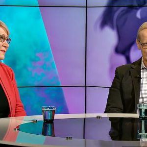 Sole Askola-Vehviläinen ja Timo Mäki.