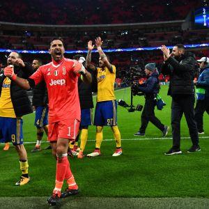 Juventus juhli Wembleyllä