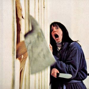 Shelley DuVall näytteli naispääosaa Hohto-elokuvassa.