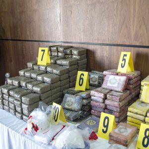 Marokossa takavarikoitua kokaiinia