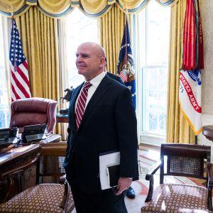 Kansallisen turvallisuuden neuvonantaja H.R. McMaster saattaa joutua jättämään Valkoisen talon seuraavaksi.