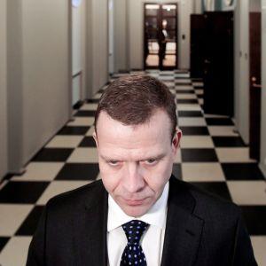 Kokoomuksen puheenjohtaja, valtiovarainministeri Petteri Orpo.