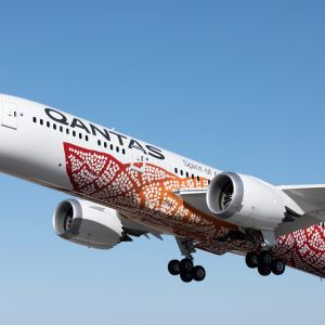 Qantas 787-9 Dreamliner.