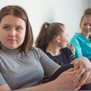 Ida Hirvonen, Anni Haataja ja Nella Frilander