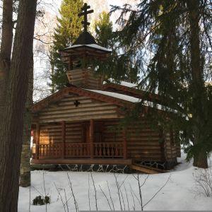 Pietarsaaren ortodoksinen tsasouna rakennettiin 80-luvulla talkoovoimin.