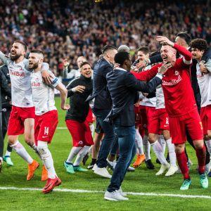 RB Salzburg teki ihmeen Eurooppa-liigan puolivälierissä
