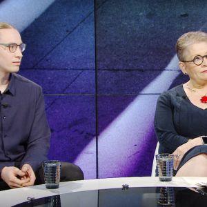 Sameli Sivonen ja Ann Selin