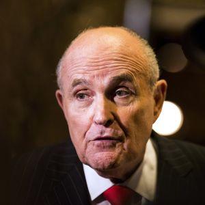 Lakimies Rugy Giuliani tammikuussa 2017.