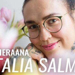 Natalia Salmela vieraili YleX Etusivussa.