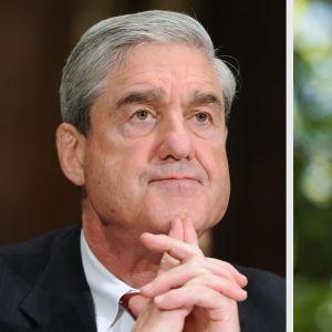 Robert Mueller ja Donald Trump.