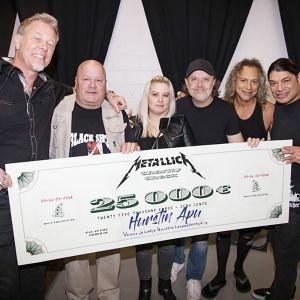 Metallica ja shekki