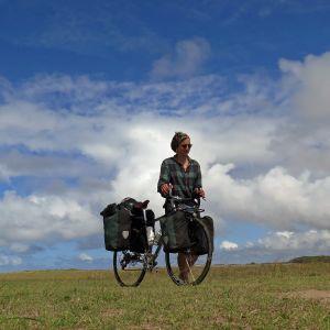 Sissi Korhonen pyöräili yksin Etelä-Amerikan halki.