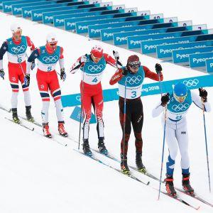 Yhdistelmäkilpailu Pyeongchangissa