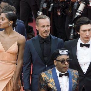 Jasper Pääkkönen Cannesin punaisella matolla.