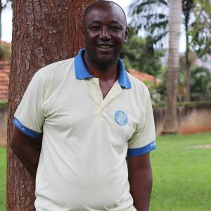 Burundilainen ympäristöaktivisti Mamert Sabushimike Ugandan Kampalassa.