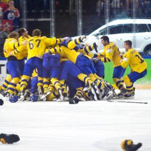 Ruotsi juhlii MM-kultaa