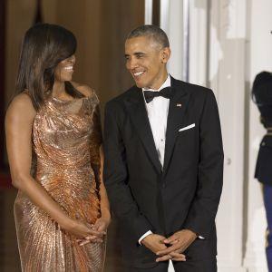 Michelle ja Barack Obama.