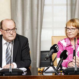 Tapani Tölli ja Annika Lapintie