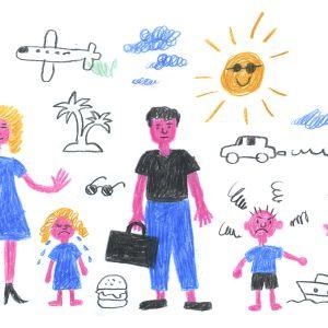 Lasten kanssa lomalla