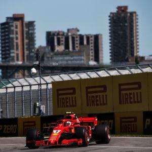 Kimi Räikkönen Kanadan gp:ssä