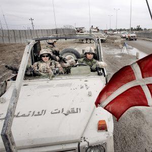 Tanskalaisia sotilaita Irakissa 2005.