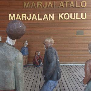 Marjalan koulu Joensuussa.