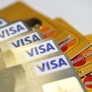 Luottokortteja.