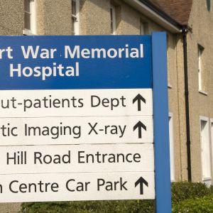 Gosport War Memorial Hospital.
