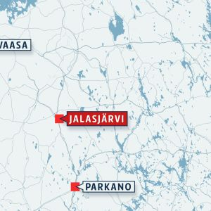 Jalasjärven kartta.