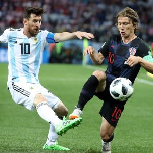 Messi Modric